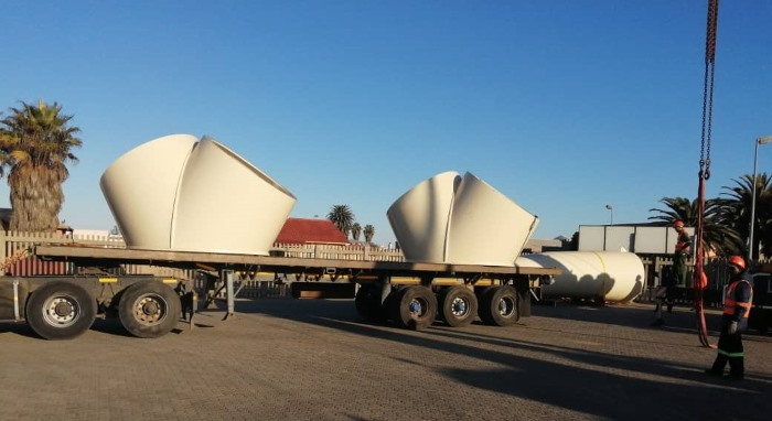 Project cargo at Port of Walvis Bay, featured in Africa PORTS & SHIPS maritime news