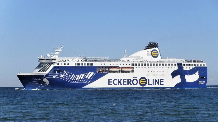 Eckerö Lines mv Finlandia among the first ships to be equipped with Nowhere Networks broadband solution. Picture: Wikipedia, featured in Africa PORTS & SHIPS maritime news
