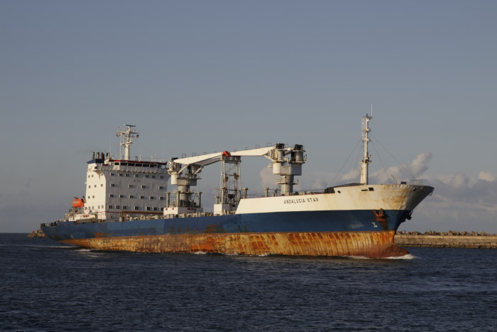 Andalucia Star Picture: Keith Betts, featured in Africa PORTS & SHIPS maritime news