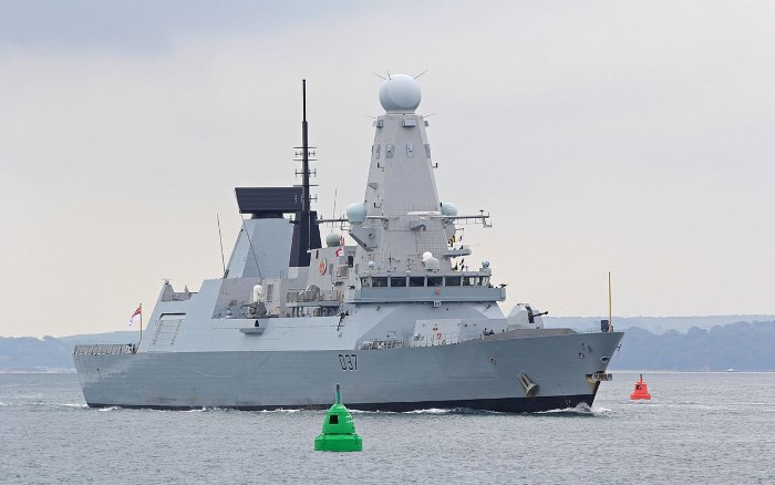The Royal Navy destroyer HMS Duncan D37 which is on her way to join the Persian Gulf patrol. Picture: Wikipedia, reported in Africa PORTS & SHIPS maritime news