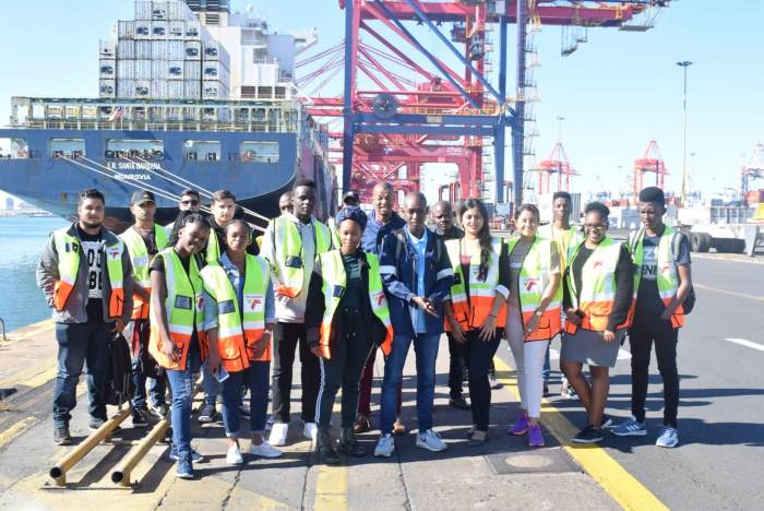 Youth Orientation Programme launched in Durban for port city youth, featured in Africa PORTS & SHIPS maritime news