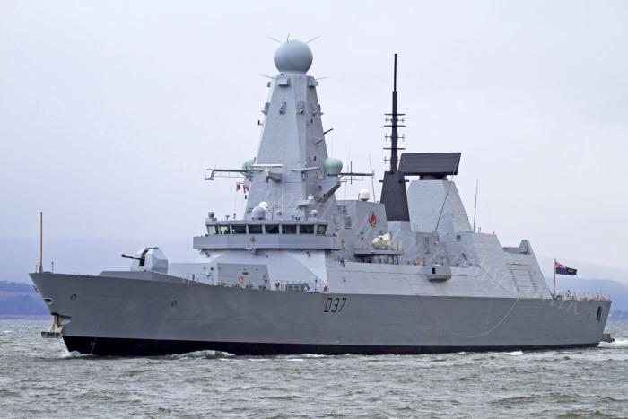 HMS Duncan. Picture: MoD Crown Copyright 2019 ©