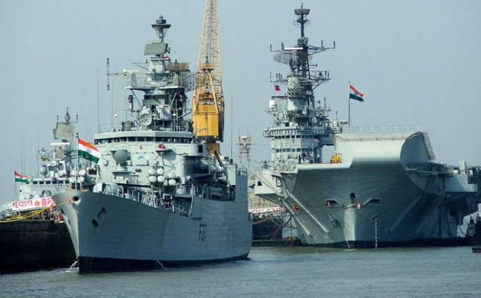 Indian Naval ships. Picture: Indian Navy, featured in Africa PORTS & SHIPS maritime news