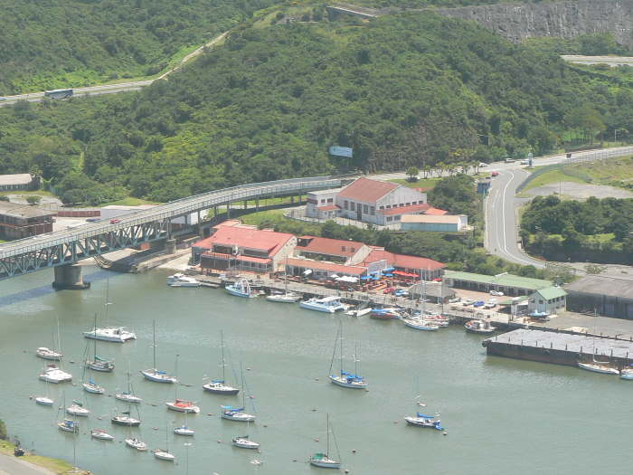 Latimer's Landing viewed from a high point on the West Bank. Picture: TNPA, as reported in Africa PORTS & SHIPS maritime news