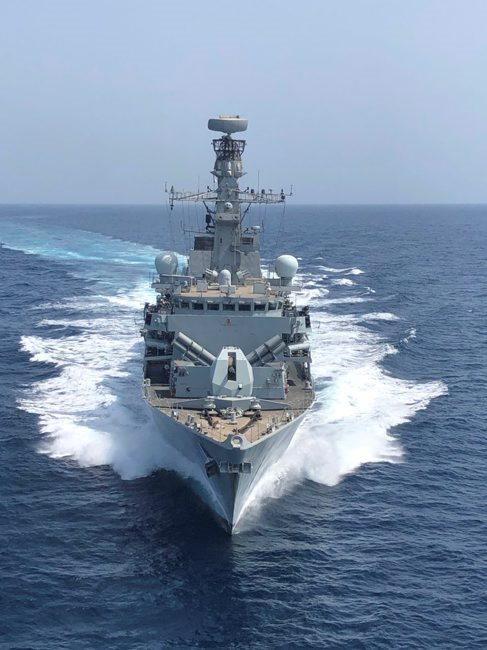 HMS Montrose, featured in Africa PORTS & SHIPS maritime news