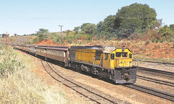 NRZ passenger train, featured in Africa PORTS & SHIPS maritime news