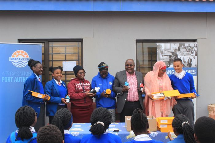 Namport Social Investment Fund donates science kits to Flamingo Secondary School, reported in Africa PORTS & SHIPS maritime news