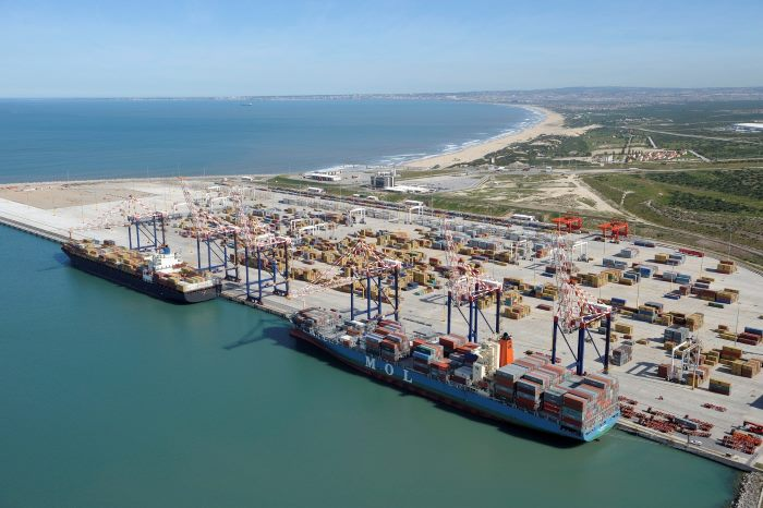 Port of Ngqura Container Terminal, where a number of workers have been suspended over go-slows, resported in Africa PORTS & SHIPS maritime news