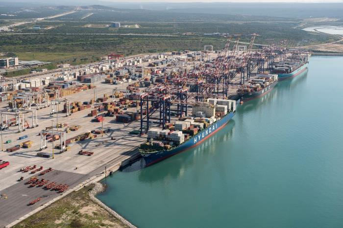 Port of Ngqura Container Terminal, reported in Africa PORTS & SHIPS maritime news