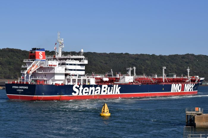 Stena Imprimis, as featured in Africa PORTS & SHIPS maritime news