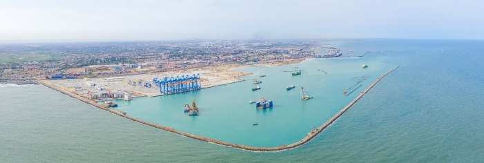 The impressive new MPS Terminal 3 at Tema, Ghana, featured in Africa PORTS & SHIPS maritime news