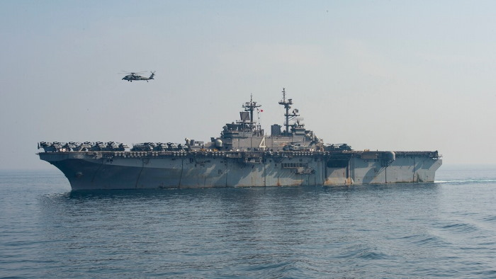 USS Boxer. Picture: Mass Communication Specialist 3rd Class Keypher Strombeck US Navy, reported in Africa PORTS & SHIPS maritime news