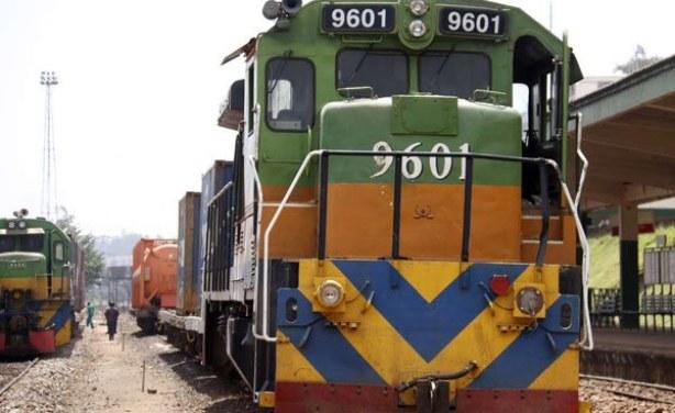 Uganda Railways RVR metre gauge diesel locomotive, featured in Africa PORTS & SHIPS maritime news