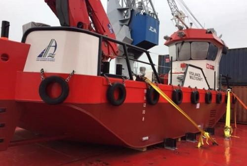 The new Beaver 50 dredger 'Vigilence' that has been delivered in Douala, featured in Africa PORTS & SHIPS maritime news