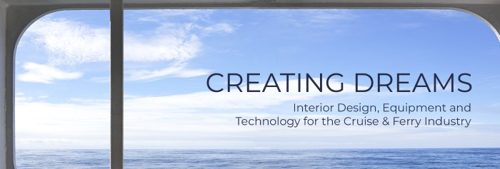 Creating Design exhibition banner, shown in Africa PORTS & SHIPS maritime news