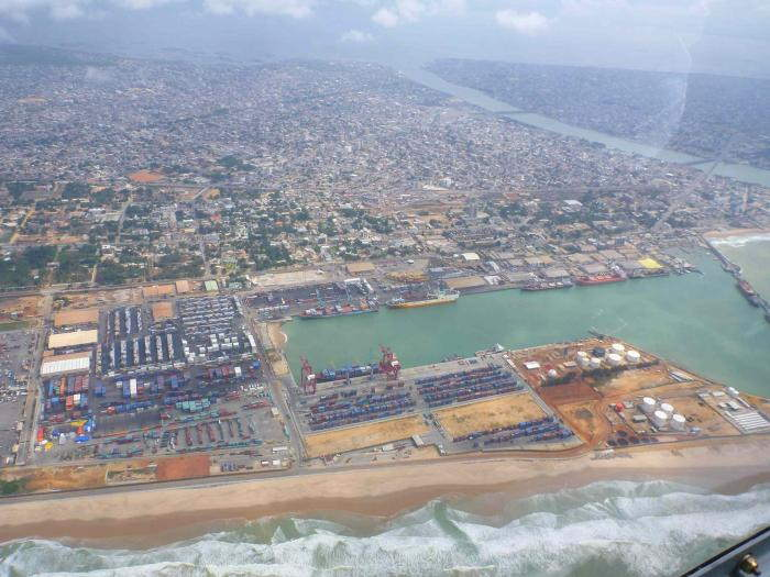 Port and city of Cotonou, featured in Africa PORTS & SHIPS maritime news