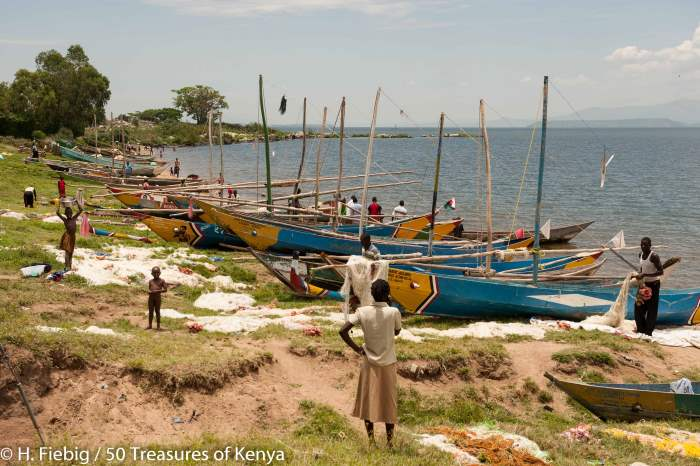 Fishing is a major income provider at the shores of Lake Victoria. Picture by H Fiebig, featured in Africa PORTS & SHIPS maritime news