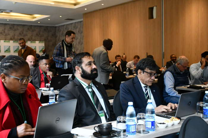 Some of the delegates to the Cape Town meeting on IMO 2020 Sulphur Cap implementation, featured in Africa PORTS & SHIPS maritime news. Picture: SAMSA