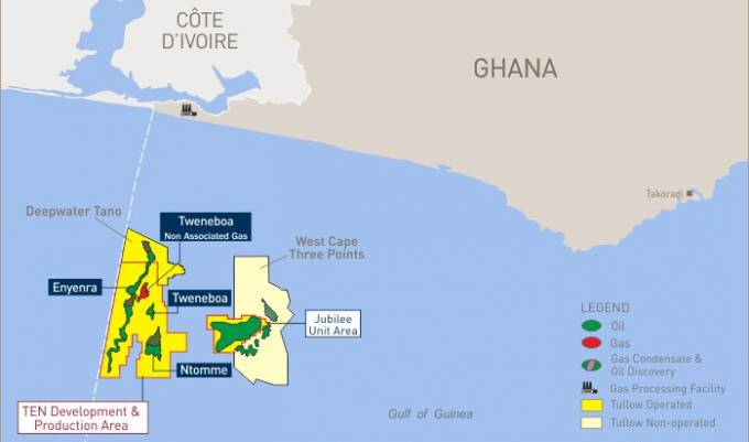 Ghana and its offshore oilfield, featured in Africa PORTS & SHIPS maritime news