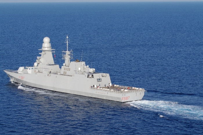 The Italian Navy frigate ITS Antonio Marceglia which will join the Spanish frigate on station off the Horn of Africa. Picture: Wikipedia, reported in Africa PORTS & SHIPS maritime news