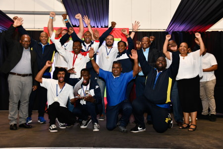 Winners in the Fire Fighting category were Richards Bay Rhinos from the Port of Richards Bay, featured in Africa PORTS & SHIPS maritime news
