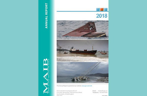 MAIB 2018 Report, featured in Africa PORTS & SHIPS maritime news