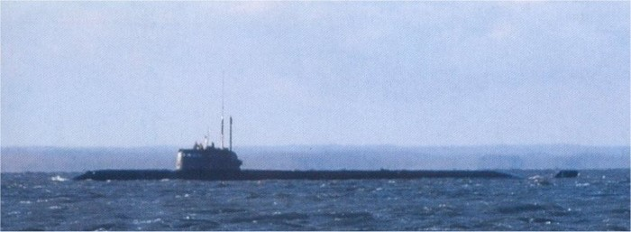 Undated photograph of Russian submarine Losharik (AS-12), featured in Africa PORTS & SHIPS maritime news