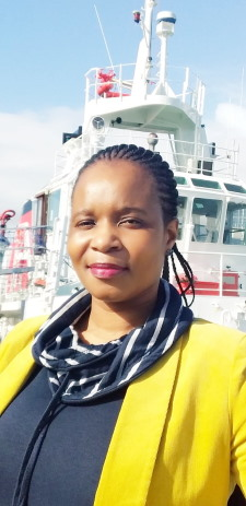 Jabulile Shandu, first female MTO at the Port of Cape Town, featured in Africa PORTS & SHIPS maritime news