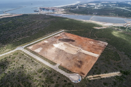 Site of the Grindrod Liquid Bulk Terminal at the Port of Ngqura, featured in Africa PORTS & SHIPS maritime news