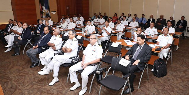Senior ICG officers at IRClass' head office in Mumbai, also in attendance are Suresh Sinha, MD of IRClass and Vijay Arora, Joint MD of IRClass, appearing in Africa PORTS & SHIPS maritime news