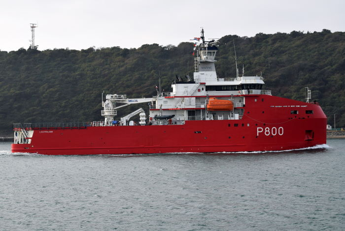 L'Astrolabe. Picture: Trevor Jones, featured in Africa PORTS & SHIPS maritime news