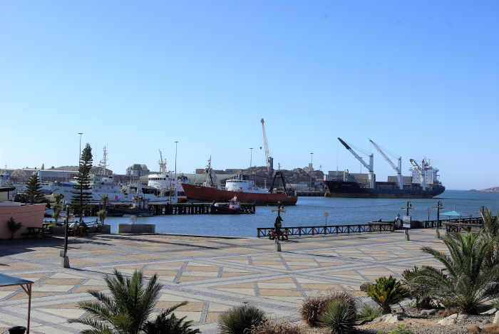 Port of Lüderitz. Picture by Theo Strauss, featured in Africa PORTS & SHIPS maritime news