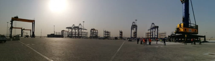 Namport NewContainer Terminal at Port of Walvis Bay, featured in Africa PORTS & SHIPS maritime news
