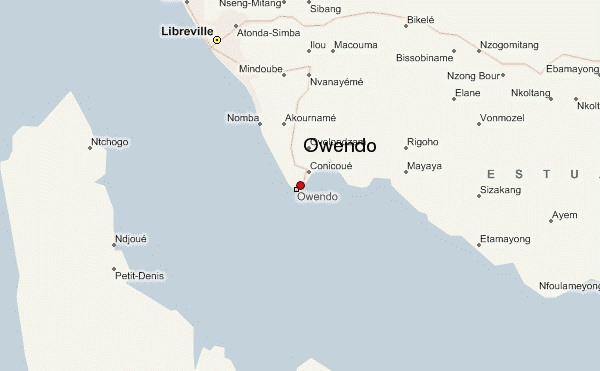 map showing port of Owendo, Gabon, featured in Africa PORTS & SHIPS maritime news