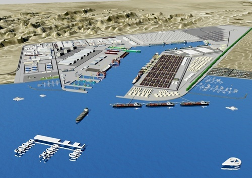 Walvis Bay North Harbour (future view), featured in Africa PORTS & SHIPS maritime news