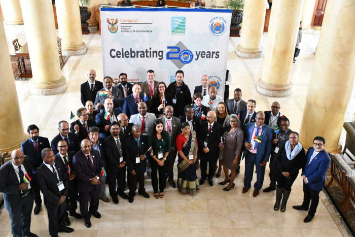 Indian Ocean Memorandum of Understanding (IOMOU) deegates at Cape Town this week, appearing in Africa PORTS & SHIPS maritime news