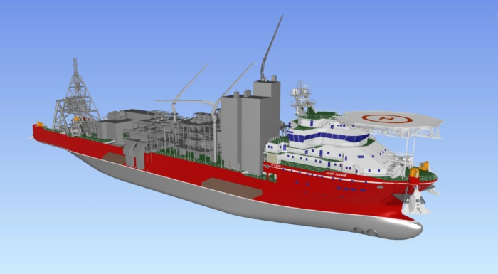 New De Beers Mining diamond recovery vessel under construction by Damen Shipyards, featured if Africa PORTS & SHIPS maritime news