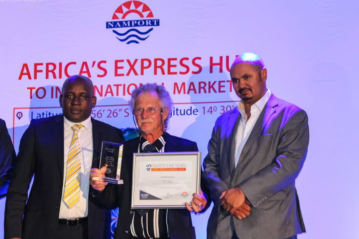 Namport Long Service Awards, 45 years in service, featured in Africa PORTS & SHIPS maritime news