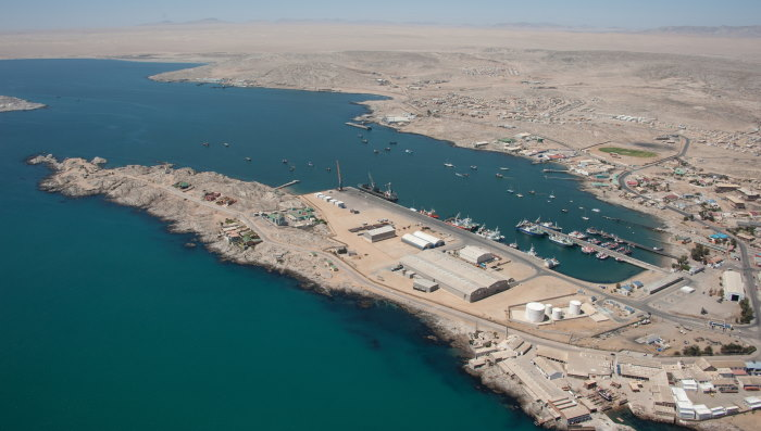 Port of Lüderitz, Namibia, featured in Africa PORTS & SHIPS maritime news