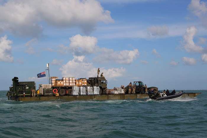 RFA Mounts Bay and Hurrican Dorian relief, featured in Africa PORTS & SHIPS maritime news