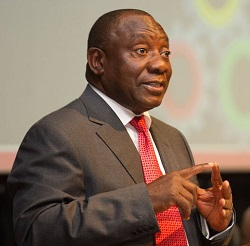President Cyril Ramaphosa, featured in Africa PORTS & SHIPS maritime news