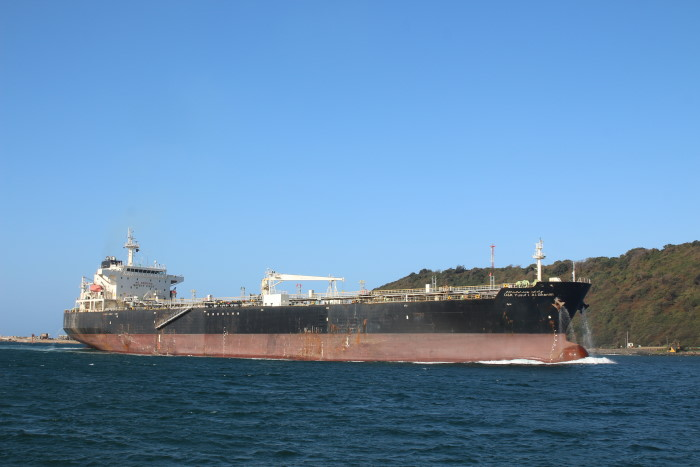 D&K Yusuf I.al-Ghanim arriving in Durban. Picture: Keith Betts, featured in Africa PORTS & SHIPS maritime news