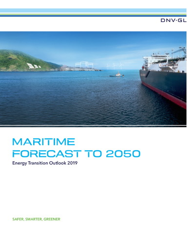 DNV GL Maritime Forecast to 2050 report, featured in Africa PORTS & SHIPS maritime news