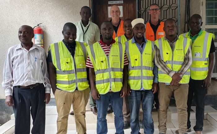 Fowler Welch team in Tanzania featured in Africa PORTS & SHIPS maritime news