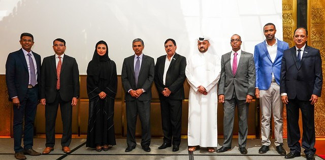 IR Class staff at the opening of the new Doha office, featured in Africa PORTS & SHIPS maritime news