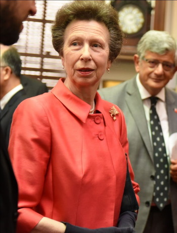 HRH The Princess Royal, Patron of Maritime UK. Photo: Maritime UK / LISW ©, featured in Africa PORTS & SHIPS maritime news