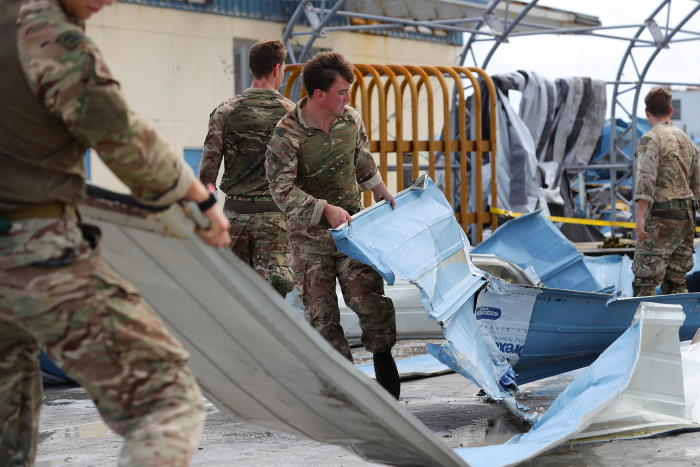 RFA Mounts Bay assisting hurrican Dorian victims wih aid, feature in Africa PORTS & SHIPS maritime news