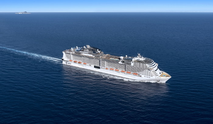 MSC Grandiosa, to be named in Hamburg on 9 November. All pictures courtesy: MSC Cruises, featured here in Africa PORTS & SHIPS maritime news
