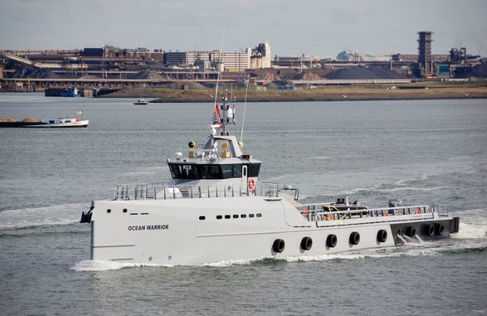 Sea Shepherd's Ocean Warrior patrol vessel that has been operating on African coast, featured in Africa PORTS & SHIPS maritime news