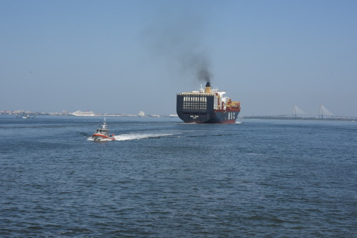 USCG Charleston, featuring in Africa PORTS & SHIPS maritime news